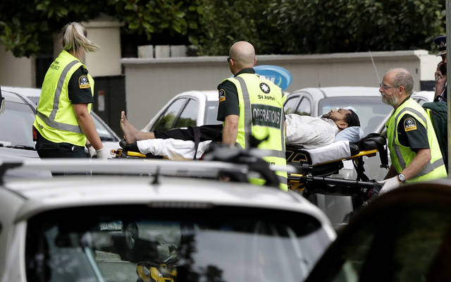 New Zealand mosque shootings leave 40 killed, 20 wounded