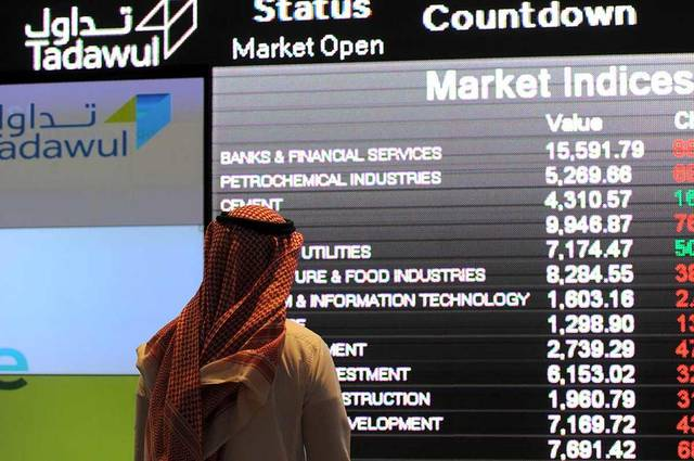Saudi indices end Wednesday on positive note