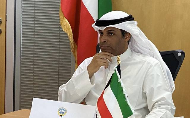 وزير النفط ووزير الكهرباء والماء في الكويت، خالد الفاضل