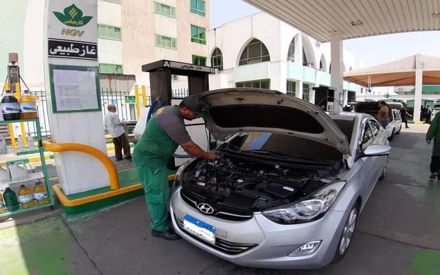 مصر تستهدف تحويل 50 ألف سيارة سنوياً للعمل بالغاز الطبيعي
