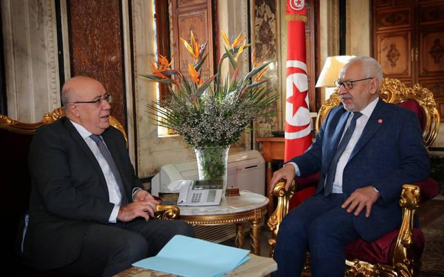 رئيس النواب ومحافظ المركزي يناقشان الوضع الاقتصادي التونسي