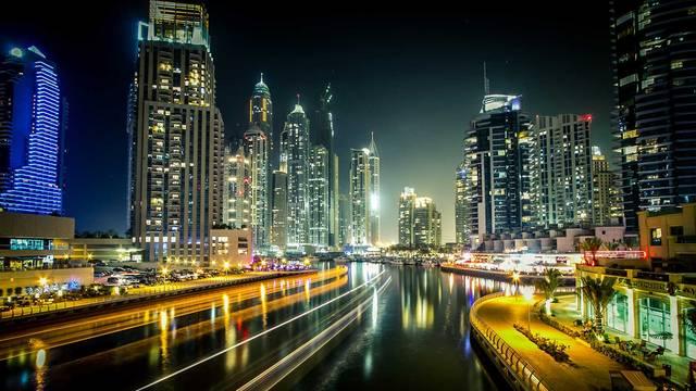 أحد المعالم السياحة بإمارة دبي ، الصورة أرشيفية
