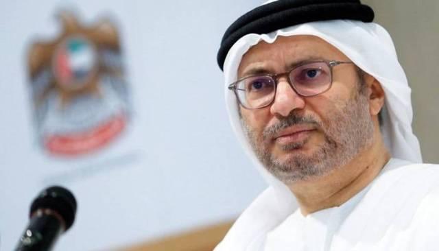 وزير الدولة للشؤون الخارجية في الإمارات، أنور قرقاش