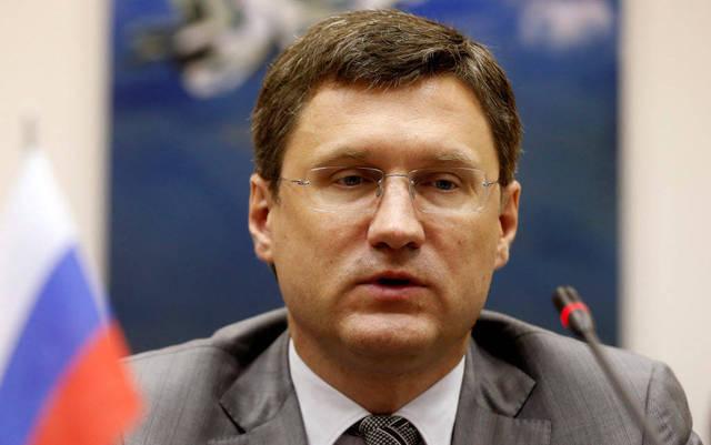 وزير الطاقة الروسي ألكسندر نوفاك - أرشيفية