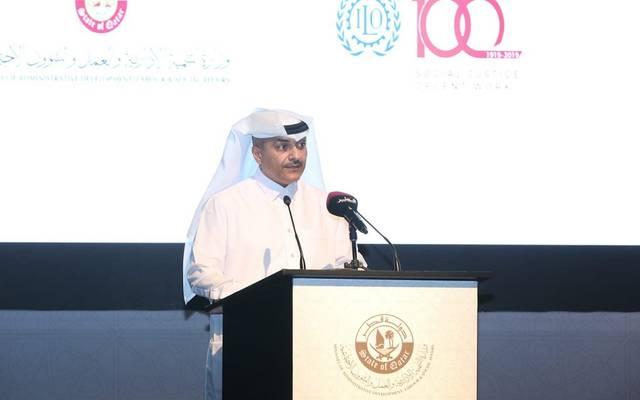 وزير التنمية الإدارية والعمل والشؤون الاجتماعية القطري يوسف فخرو