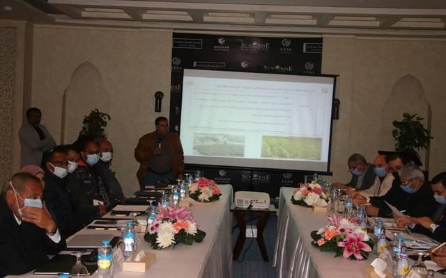 وزير الزراعة يبحث آفاق التنمية وحل مشاكل المزارعين والمربين في جنوب سيناء