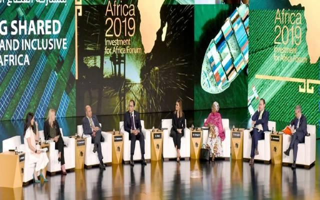 """جانب من مؤتمر """"أفريقيا 2019"""""""