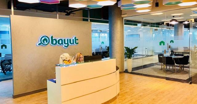 The brand name, Bayut, means homes in Arabic