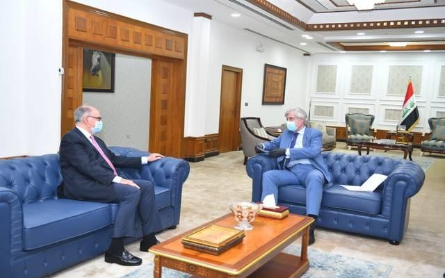 وزير المالية العراقي يستقبل السفير الروسي في بغداد