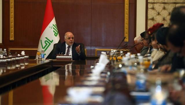 اجتماع سابق لمجلس الوزراء العراقي
