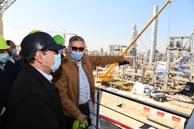 وزير البترول المصري يتابع مشروع توسعات مصفاة ميدور بالإسكندرية بتكلفة 2.3 مليار دولار