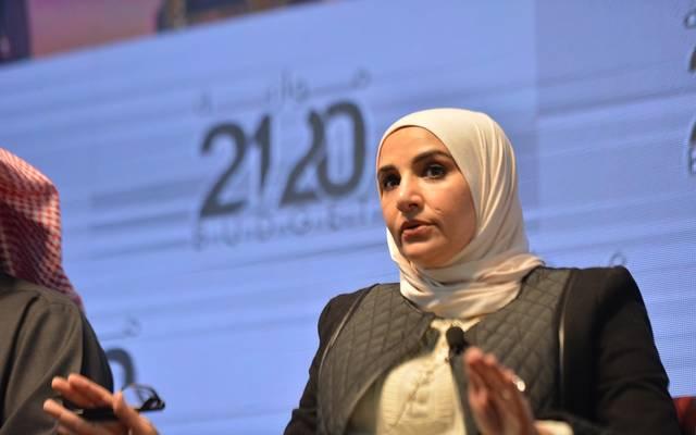 وزيرة المالية ووزيرة الدولة للشؤون الاقتصادية بالوكالة في الكويت ، مريم العقيل