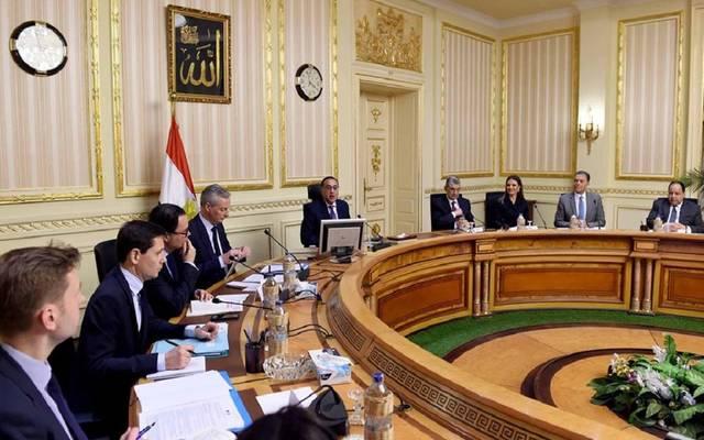 لقاء وزير المال والاقتصاد الفرنسي بالحكومة المصرية اليوم