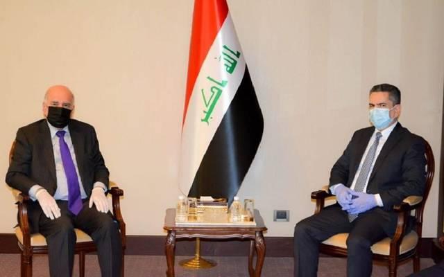 رئيس مجلس الوزراء المكلف، عدنان الزرفي، يبحث مع وزير المالية، فؤاد حسين، آخر مستجدات الأوضاع السياسية والأمنية والاقتصادية