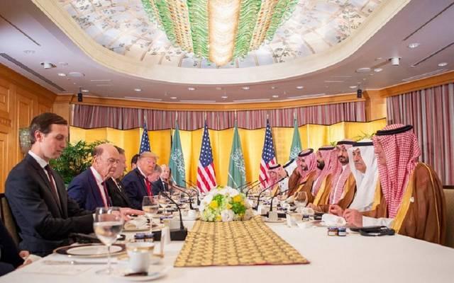 على هامش قمة العشرين.. ولي العهد السعودي يلتقي الرئيس ترامب
