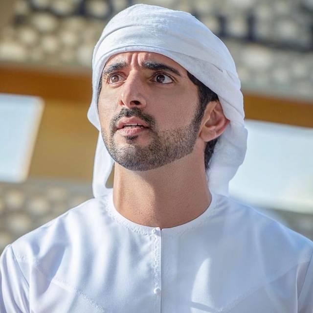 الشيخ حمدان بن محمد بن راشد آل مكتوم، ولي عهد دبي رئيس مجلس دبي الرياضي