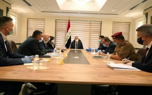 رئيس مجلس الوزراء، مصطفى الكاظمي، يجتمع باللجنة الخاصة بمشروع إنشاء المدن الجديدة
