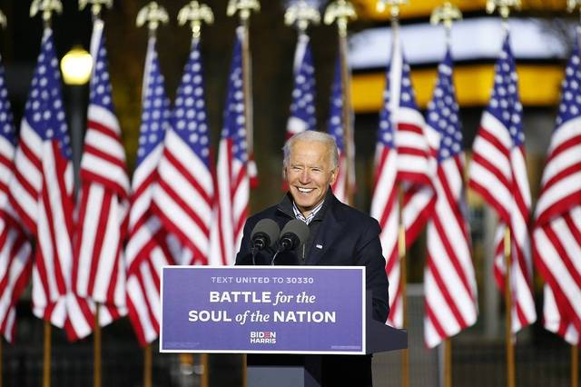 Biden calls for unity in US presidential victory speech