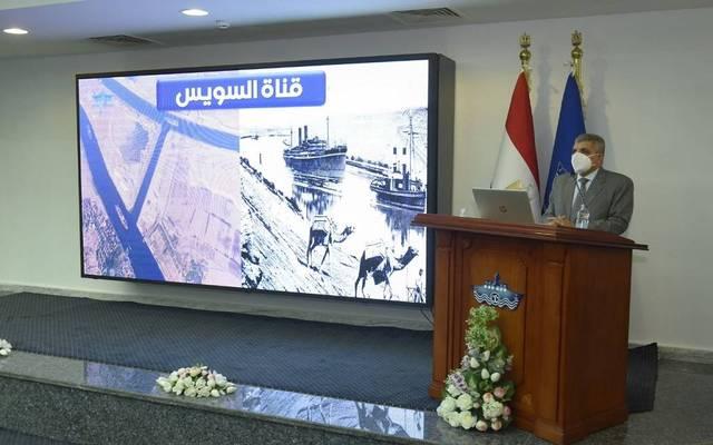 Suez Canal Authority's (SCA) Chairman, Osama Rabie