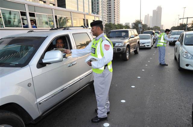 إشارة مرورية بإمارة دبي