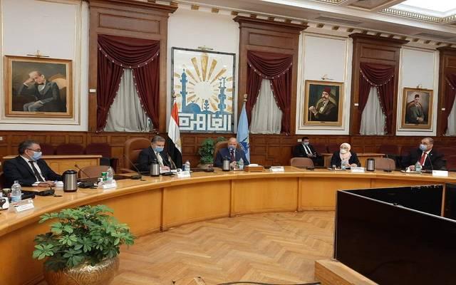 خلال اجتماع محافظ القاهرة ووزير قطاع الأعمال العام