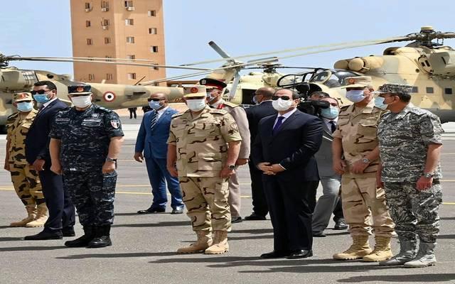 السيسي: توجهنا لمجلس الأمن ضمن المسار الدبلوماسي لملف سد النهضة