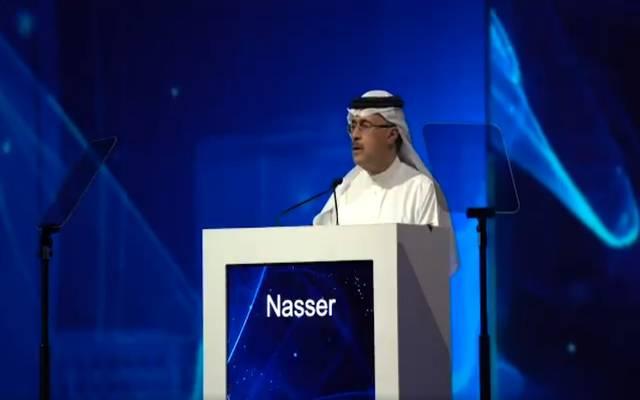 أمين الناصر الرئيس التنفيذي لشركة أرامكو السعودية بمؤتمر الطاقة العالمي في أبوظبي 2019
