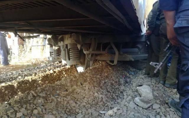 السكة الحديد تعلن أسباب حادث قطار كفر الشيخ..وإصابة 9 ركاب