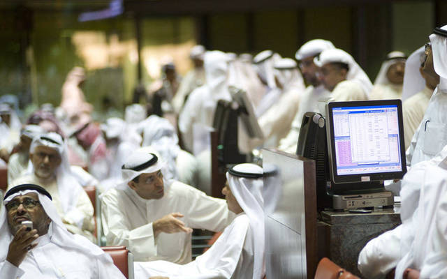 Traders on the Boursa Kuwait