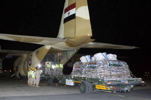 مصر تُقدم مساعدات إنسانية عاجلة للسودان