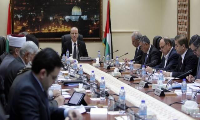 إجتماع مجلس الوزراء الفلسطيني برئاسة رامي الحمد لله