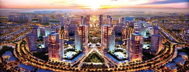 أحد مواقع منطقة دبي الجنوب