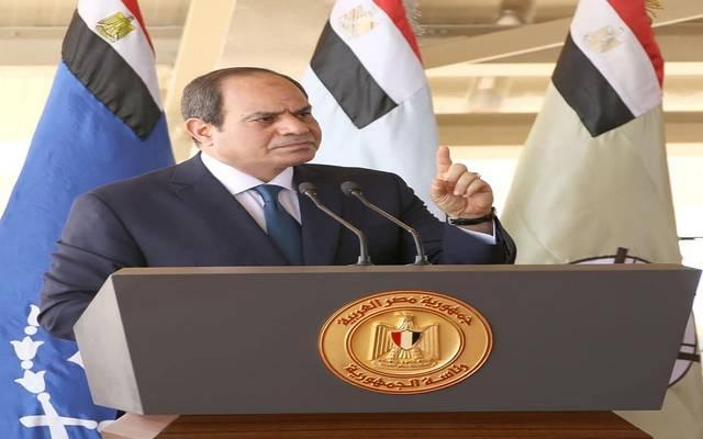 السيسي: تجاوز سرت - الجفرة شرقي الأراضي الليبية خط أحمر