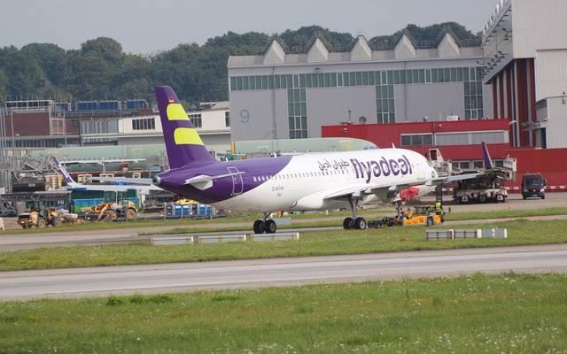 فلاي أديل تتسلم أول طائرة إيرباص من دبي لصناعات الطيران