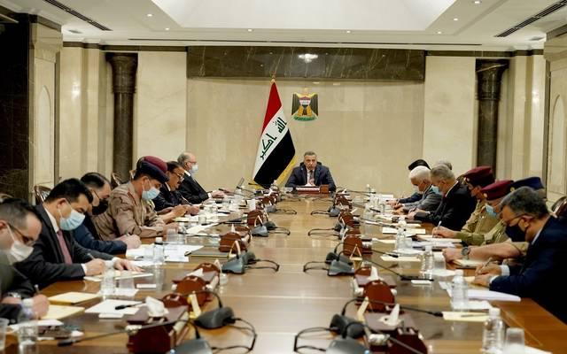 رئيس مجلس الوزراء العراقي، القائد العام للقوات المسلحة، يترأس اجتماعا للمجلس الوزاري للأمن الوطني