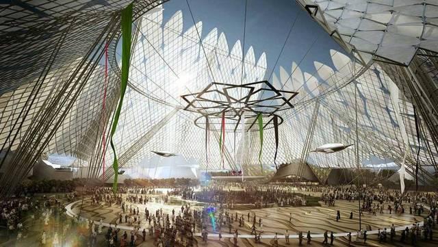 أحد مواقع معرض إكسبو دبي 2020