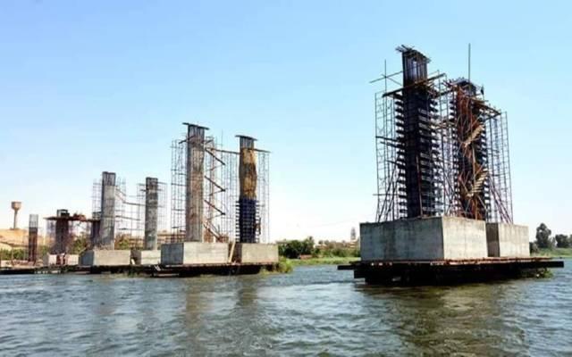 أحد كباري نهر النيل