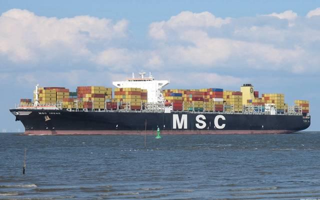 سفينة الحاويات MSC IRENE