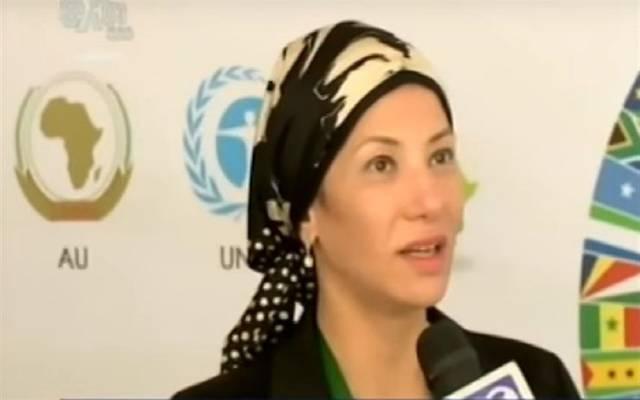 وزيرة البيئة المصرية ياسمين فؤاد ـ ارشيفية