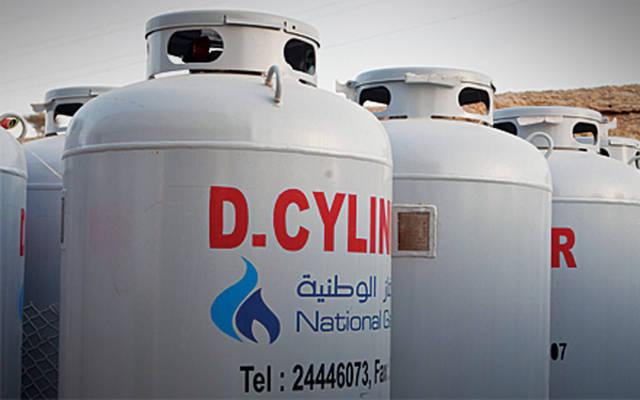 اسطوانات غاز بشركة الغاز الوطنية
