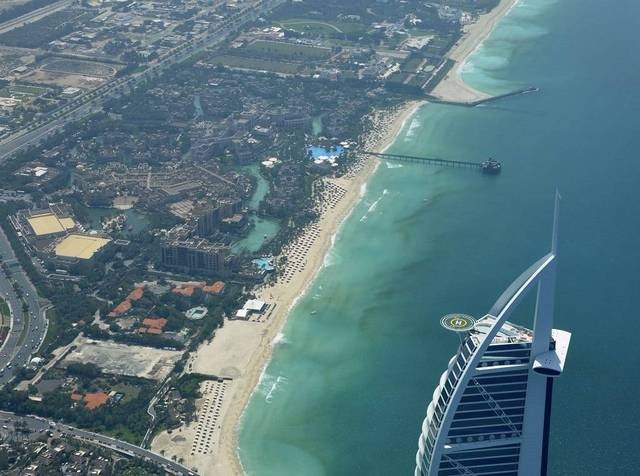 The output of the UAE's tourism sector recorded $58.2 billion