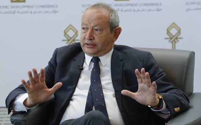 Egyptian businessman Naguib Sawiris