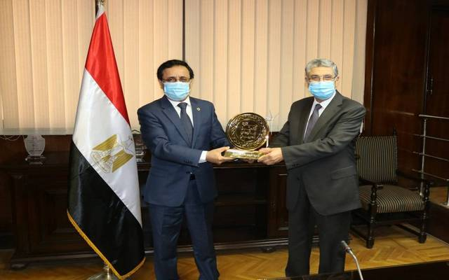 The Minister of Electricity, Mohamed Shaker, received the award