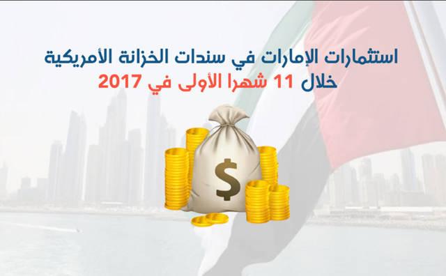 الإمارات رفعت حيازتها من السندات الأمريكية