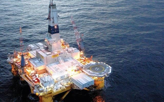 أحد حفارات النفط البحرية