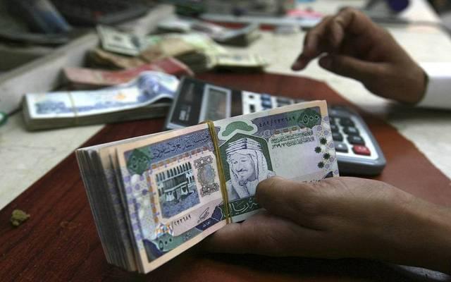 نقود ورقئة لعملة الريال السعودي