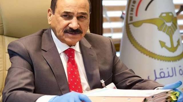 وزير النقل العراقي ناصر الشبلي