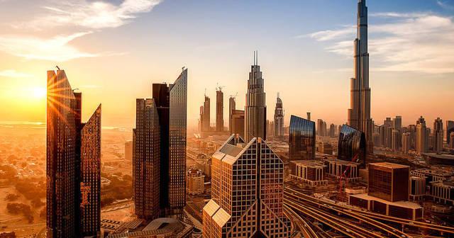أحد المعالم السياحية بإمارة دبي، الصورة أرشيفية