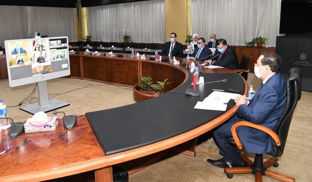 جانب من توقيع المشروع بحضور طارق الملا وزير البترول المصري