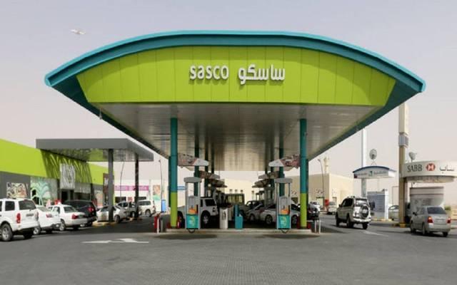 محطة وقود تابعة لشركة ساسكو